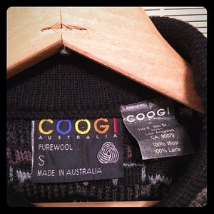 """💎🎧90's """"COOGI"""" Sweater Very Rare To Find!!🔭🛸"""